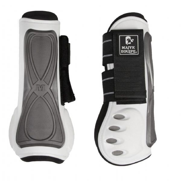 Majyk Equipe Series 3 Infinity Tendon Boot - White Pearl